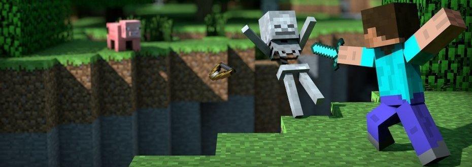 Sou super fã de MineCraft!